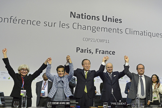 Paris Climate Change Conference - November 2015