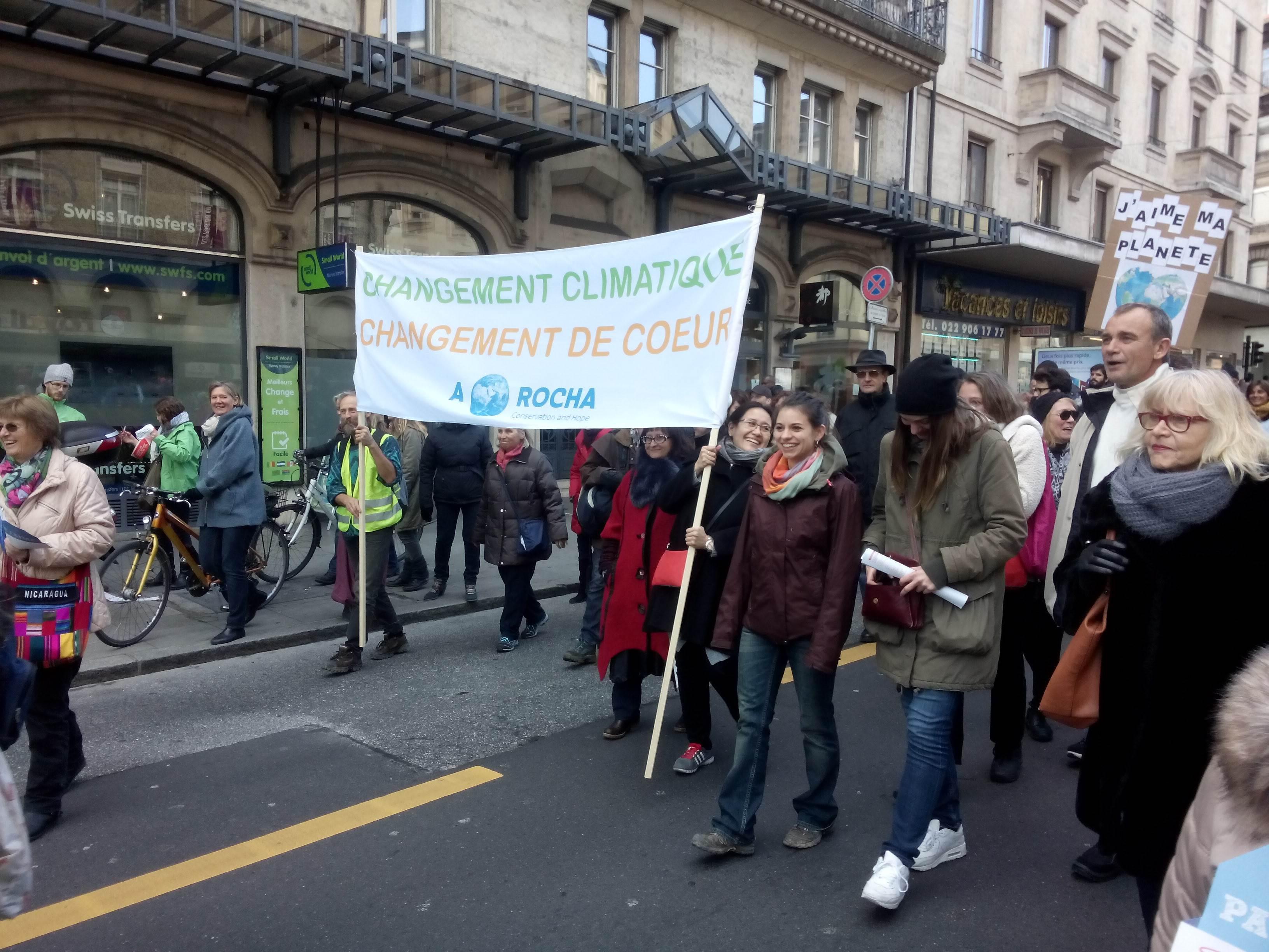 Climate March Geneva